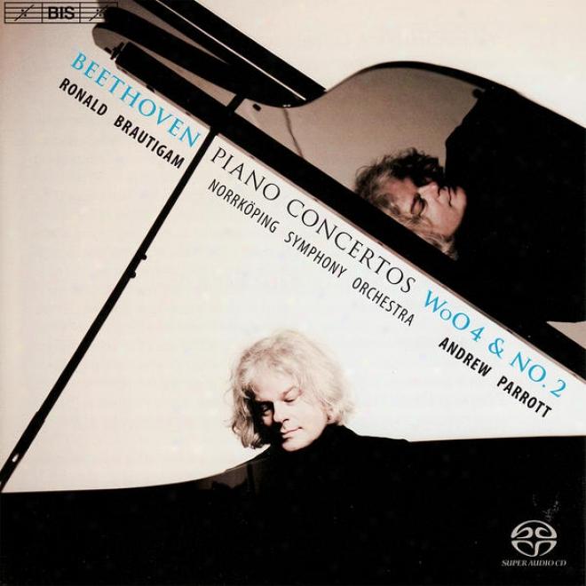 Beethoven, L. Van: Piano Concerto No. 2/piano Concerto In E Flat Major, Woo 4/rondo In B Flat Major (brautigam)