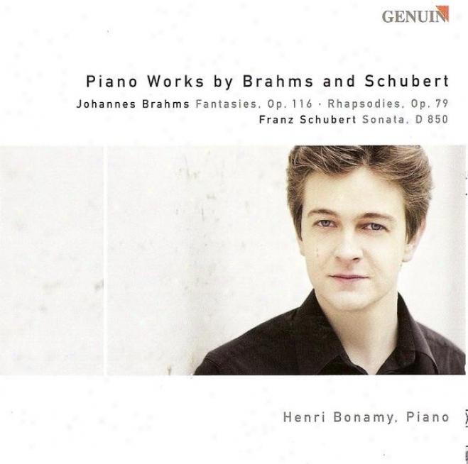Brahms, J.: 7 Fantasies / 2 Rhapodies / Schubert, F.: Piano Sonata No. 17 (bonamy)