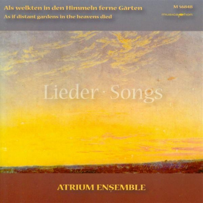 Chamber Music (german) - Schroeder, H. / Mendelssohn, Felix / Brahms, J. (as If Distant Gardens In The Heavens Died)