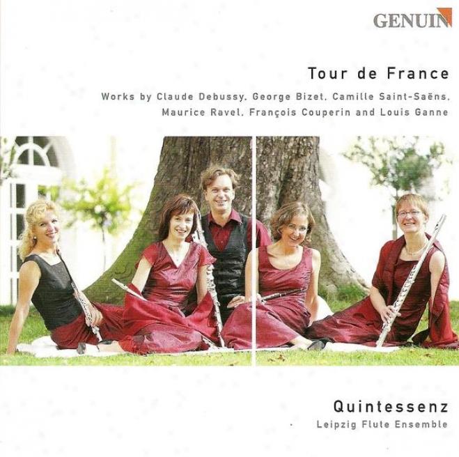 Flute Ensemble Arrangements - Debussy, C. / Bizet, G. / Saint-saens, C. / Ravel, M. / Couperin, F. / Ganne, L. (quintessenz)