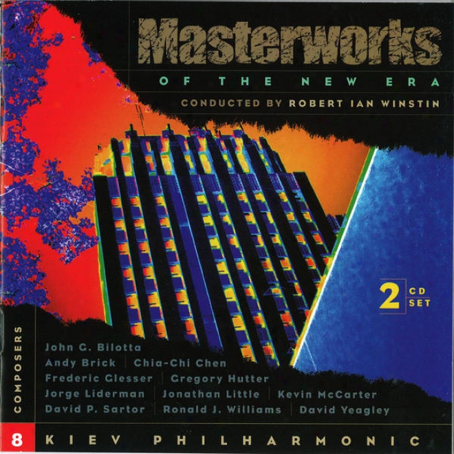 Mqsterworks Of The New Era, Vol. 8: Mccarter, Hutte,r Yeagley, Glesser, Sartor, And Others