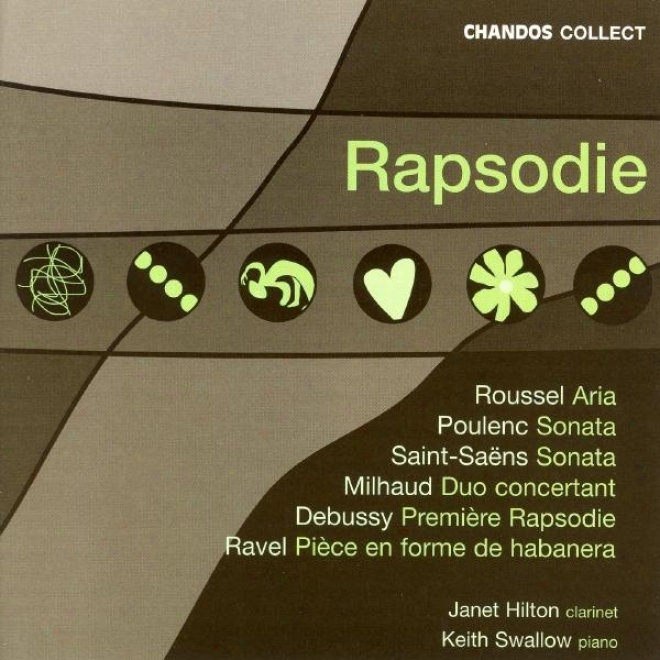 Poulenc / Ravel / Debussy / Saint-saens / Roussel / Milhaud: Works For Clarinet And Piano