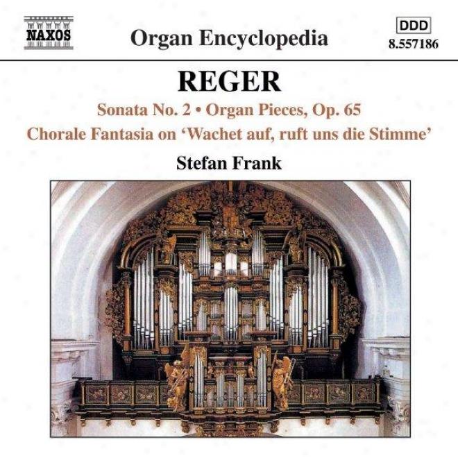 Reger: Organ Sonata No 2 / Organ Pieces, Op 65 / Choral3 Fantasia No 2, Op 52