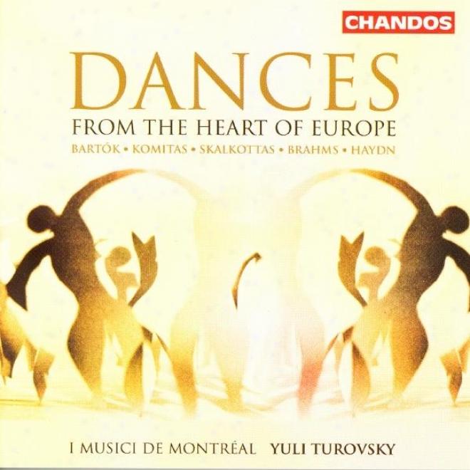 Skalkottas: 36 Greek Dances (excerpts) / Haydn: 12 German Dances / Bartok: Romanian Folk Dances