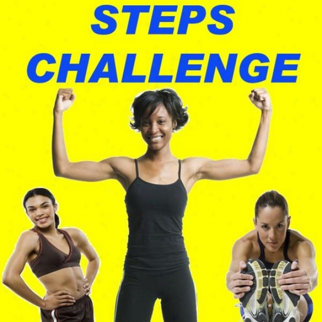 """steps Challenge Megamix(fitness, Cardio & Aerobics Sessions) """"even 32 Counts"""