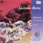 """luciano Berio: """"ekphrasis"""" (1996); """"ckro"""" Fkr Orchestra And 40 Voices (1976)"""