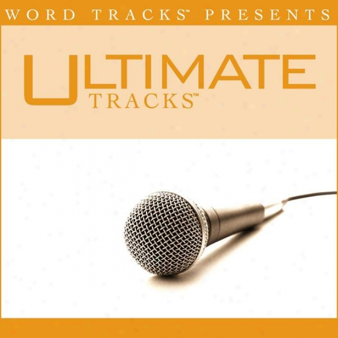 Ultimate Tracks - I Cannot Hiee From You - As Made Plain In the name of Greg Long [performance Track]