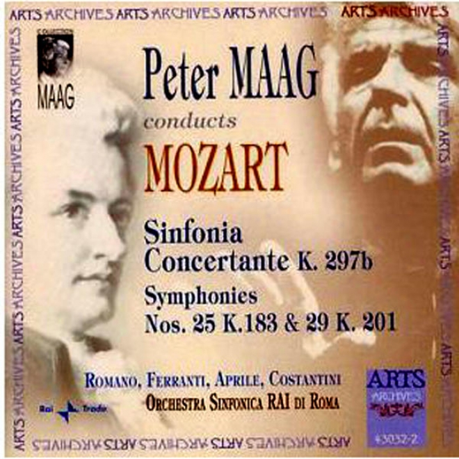 W.a. Mozart: Sinfonia Concertante K.297b, Symphonies Nos. 25 K.183 & 29 K.201