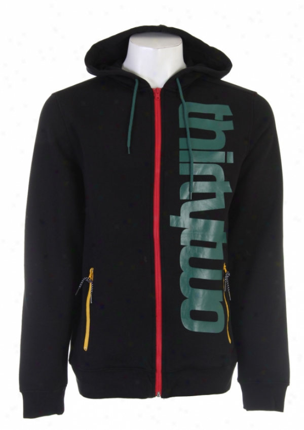 32 - Thirty Two Shiloh Zip Hoodie Black