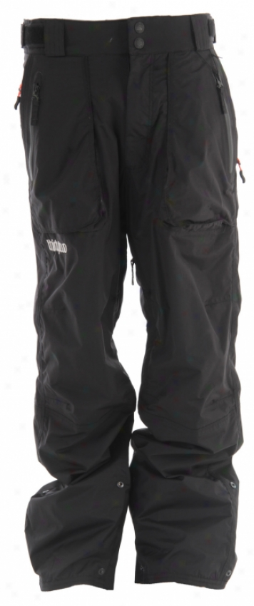 32 - Thirty Two Surveyor Snowboard Pants Black