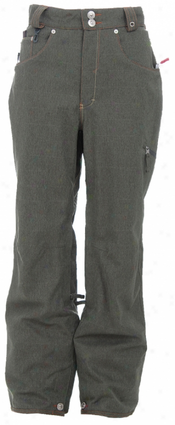 686 Times Levis 514 Insulated Snowboard Pants Labor Tweed Hgbn