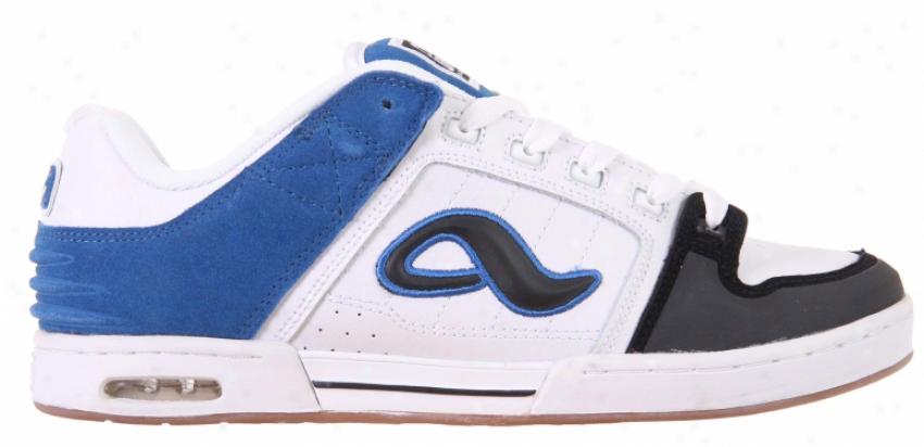 Adio Kenny Gt Skate Shoes Black/white/blue