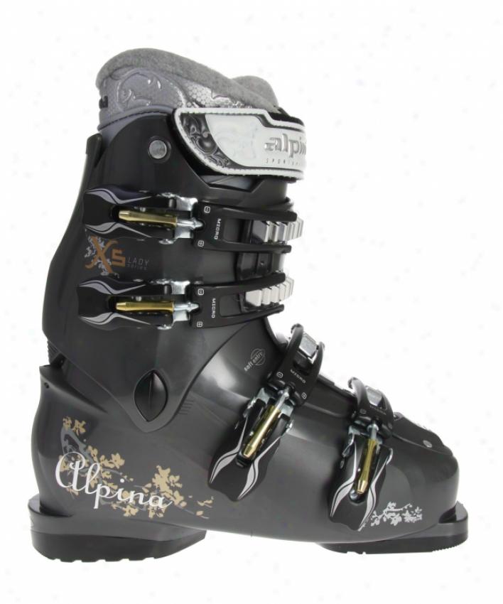 Alpina X5l Ski Boots Anthracite