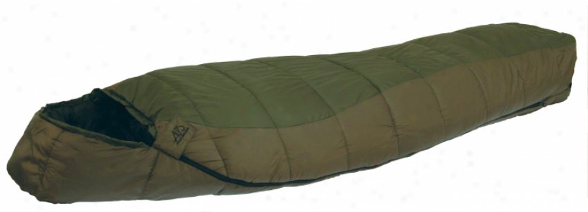 Alps Crescent Lake 0 Wide Sl3eping Bag Green/clay