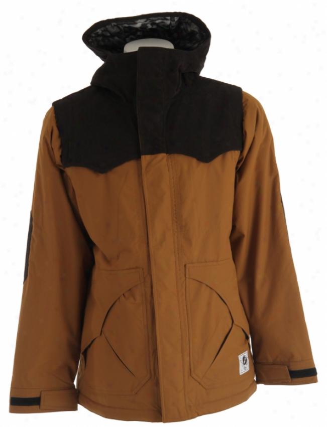 Analog Alder Snowboadd Jacket Adobe