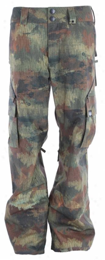 Analog Asset Snowboard Pants Rain Camo
