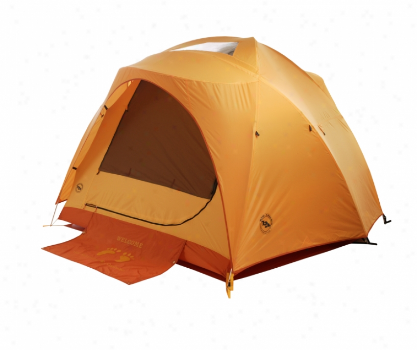 Big Agnes Big House 4 Person Tent Orange/yellow