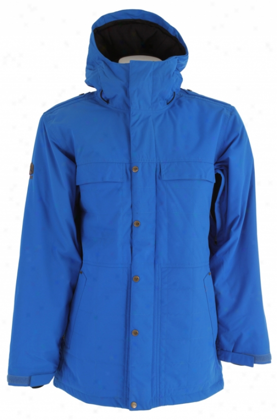 Bonfire Aspect Snowboard Jacket Bluebird