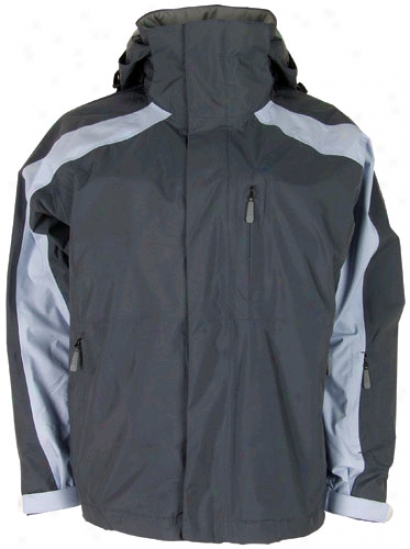 Bonfire Fusion eRflection Snowboard Jacket T0mmy Grey