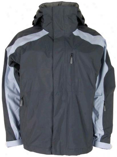 Bonfire Fusion eRflection Snowboard Jacket T0mmy Grey