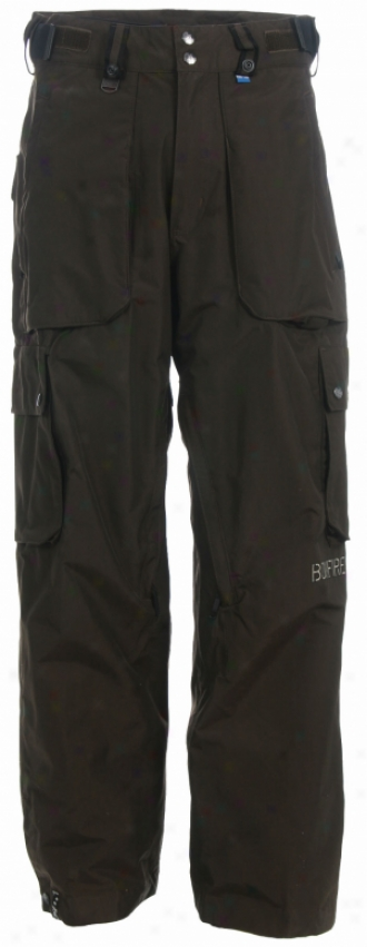 Bonfire Gambler 3 In 1 Snowboard Pants Mocha Brown