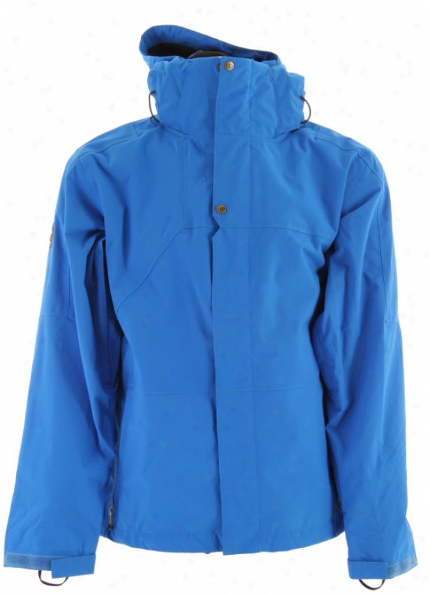 Bonfire Radiant Snowboard Jacket Bluebird