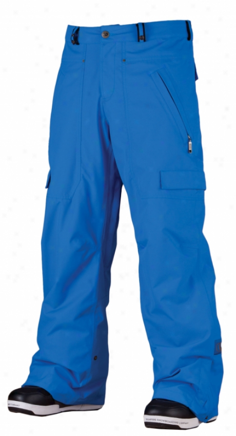 Bonfire Ghostly Snowboard Pants Bluebird