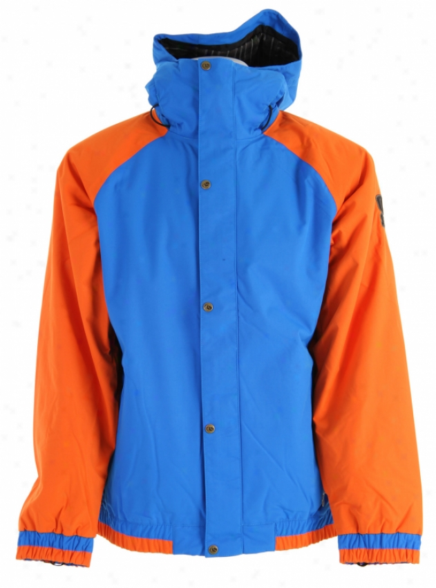 Bonfire Timberline Snowboard Jacket Bluebird