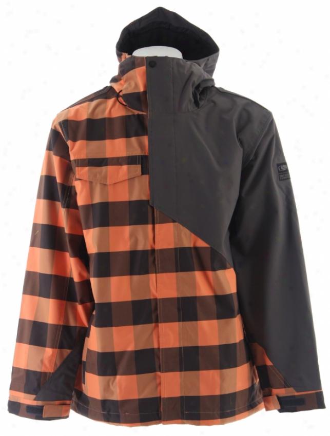 Bonfire Timberline Snowboard Jacket Spwrk/onyx