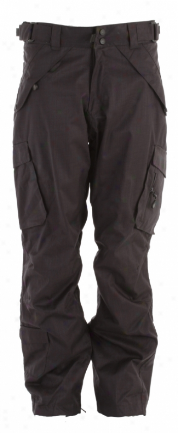 Boulder Gear Deluxe Lading Snow Pants Black