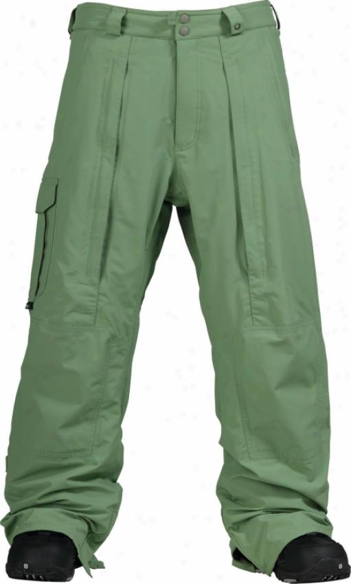 Burton 2l Goretex Shelter Snowboard Pants Chlorophyl