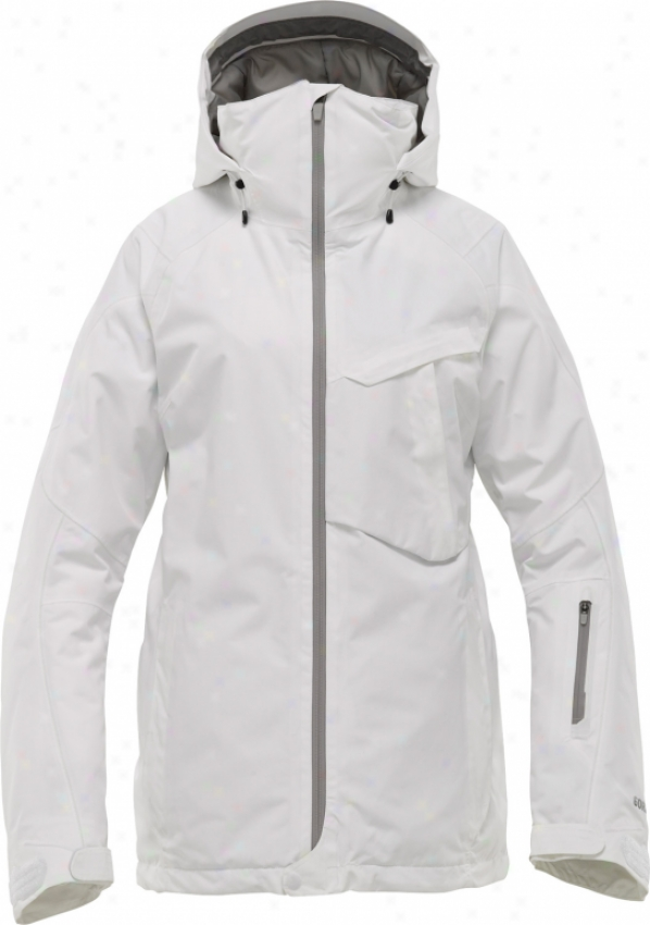 Burton Ak 2l Embark Snowboard Jacket Bright White