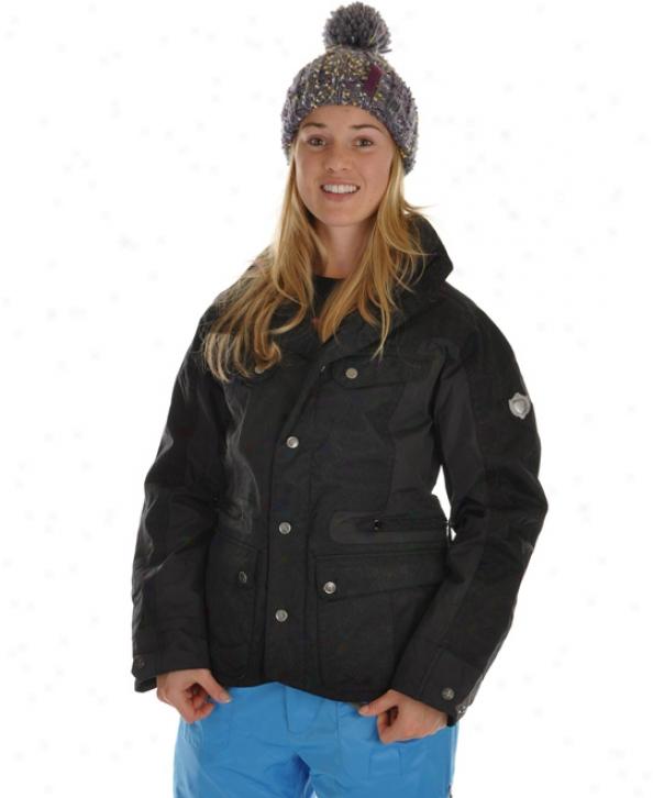 Burton B By Burton Windsor Snowboard Jacket True Black
