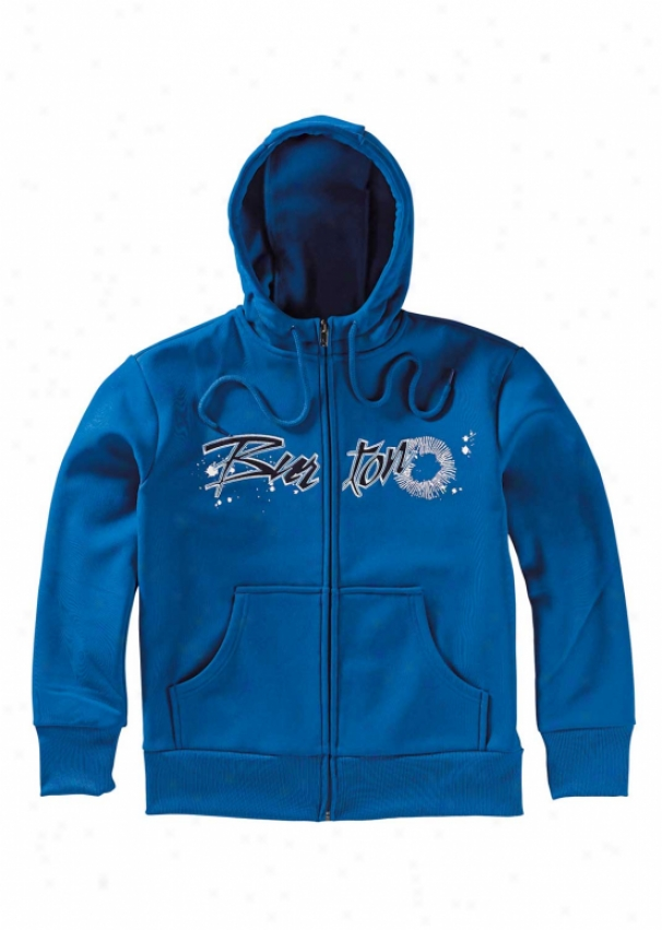 Burton Bonded Fleece Olympian Blue