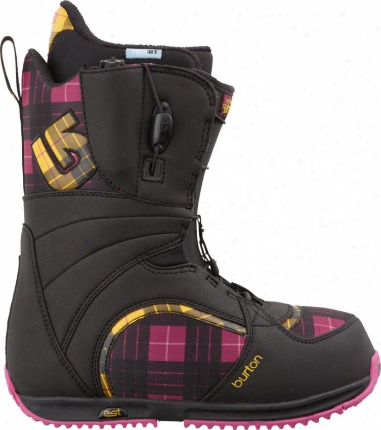 Burton Bootique Snowboard Boots Black/pink