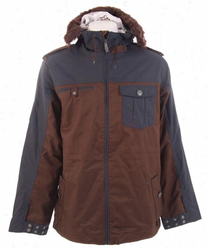 Burton Captain Tripps Snowboard Jacket Mocha