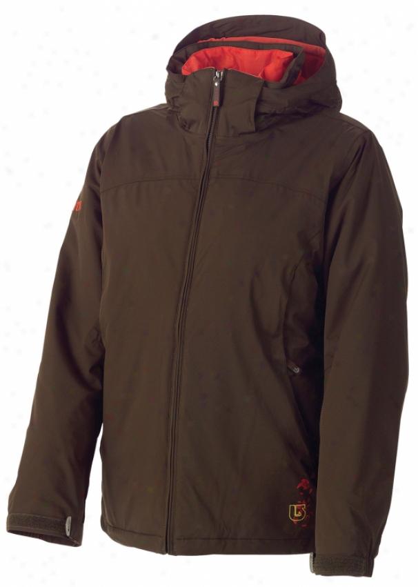 Burton Chalet System Snowboad Jacket Roasted Brown