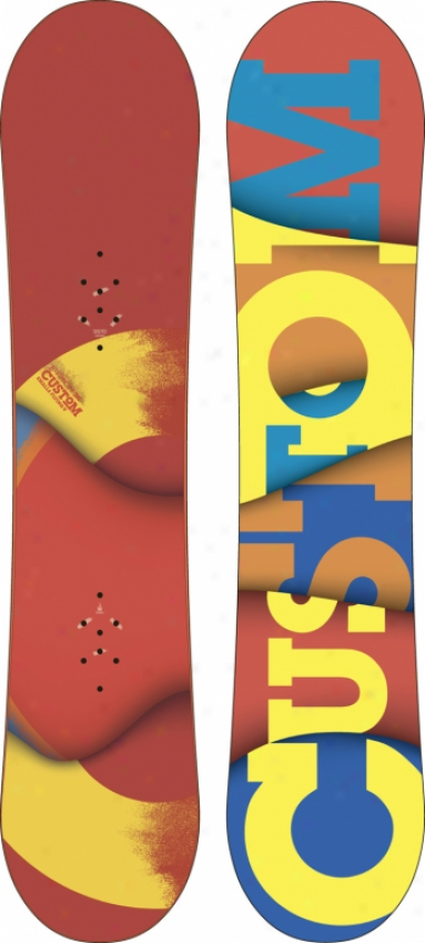 Burton Custom Smalls Flying V Snowboard 125