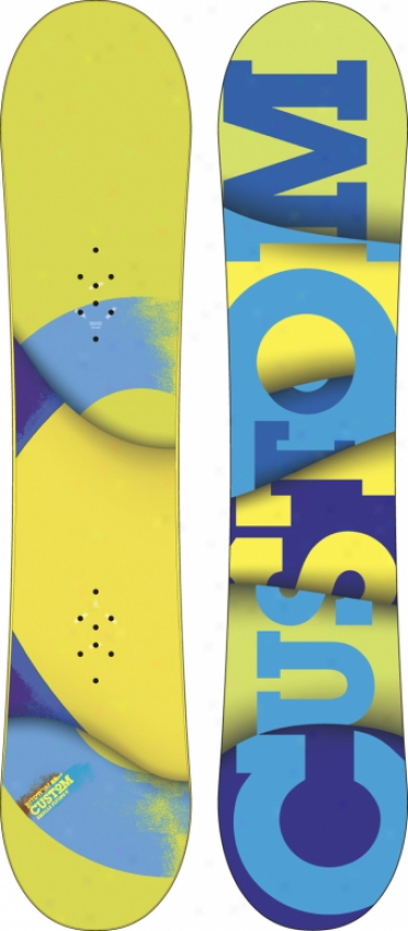Burton Custom Smalls Flying V Wide Snowboard 145
