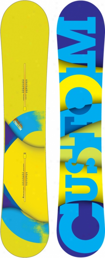 Burton Custom Wide Blem Snowboard 162