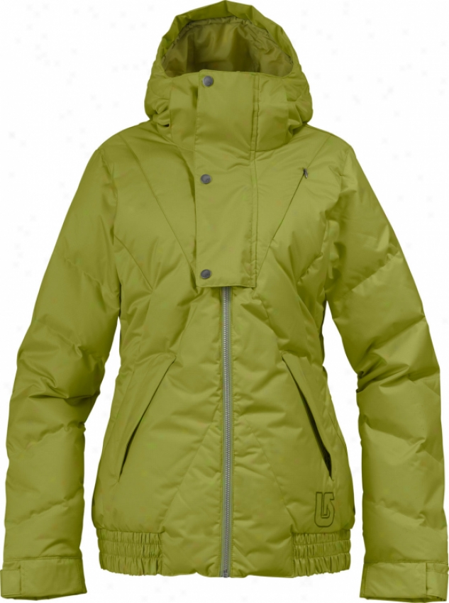 Burton Dandridge Diwn Snowboarf Jacket Grass Stain