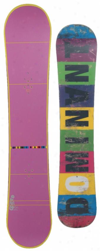 Burton Dominant Snowboard 156 Purpls