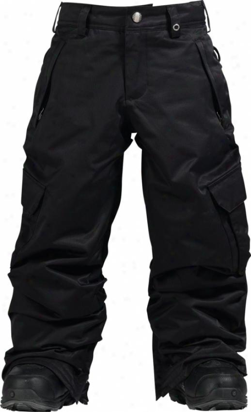 Burton Elite Cargo Snow Pants True Black