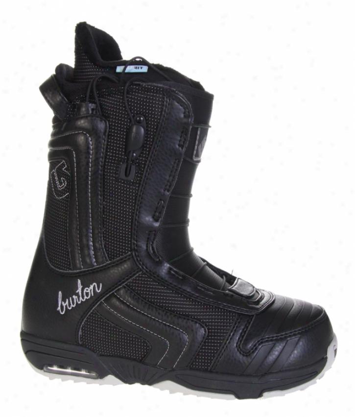 Burton Emerald Snowboard Bots Black/silver