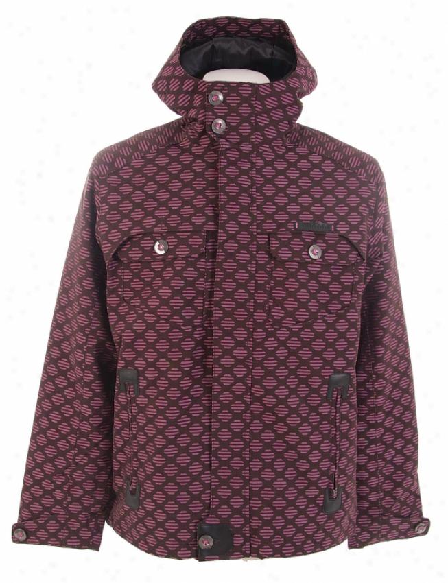 Burton Entourage Snowboard Jacket Totally Pink