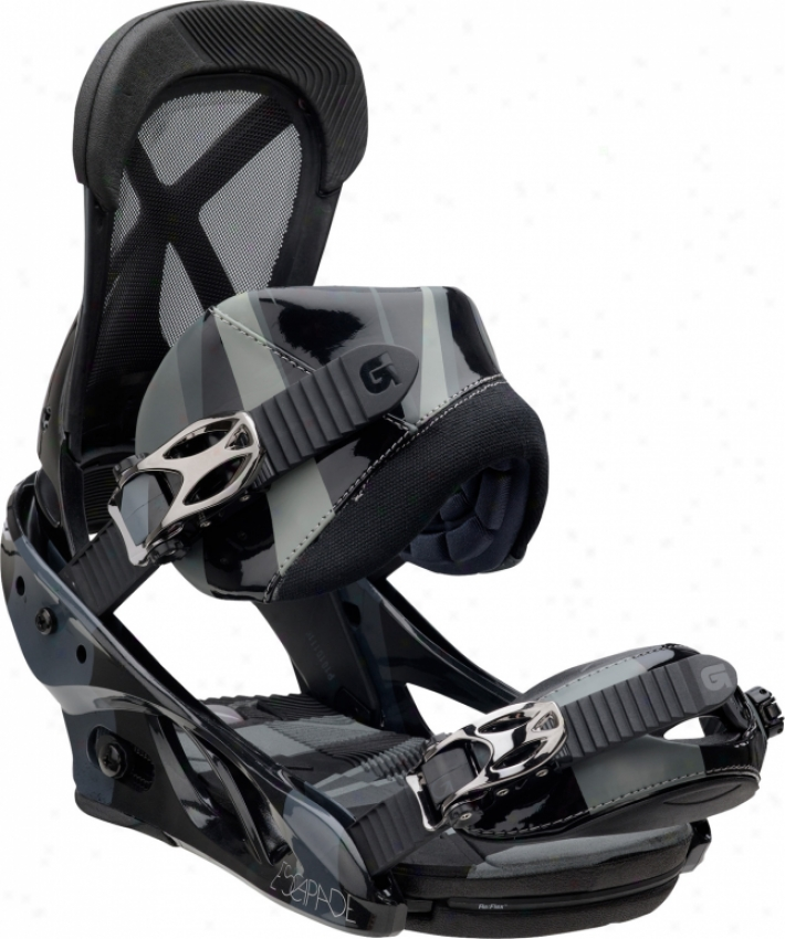Burton Escapade Snowboard Bindings Black