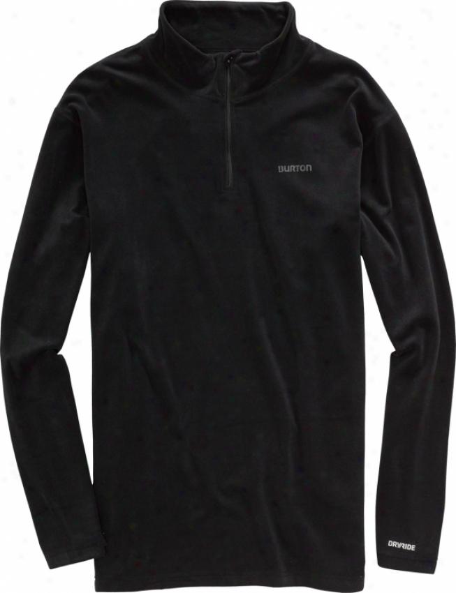 Burton Expedition 1/4 Zip First Layer Shirt True Black