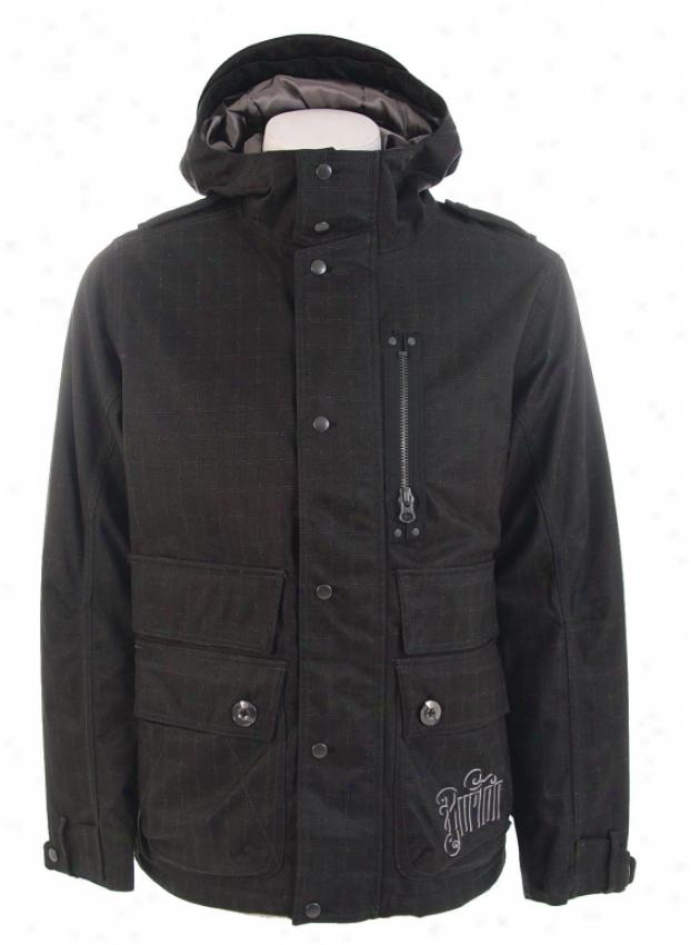 Burton Franchise Snowboard Jacket True Black