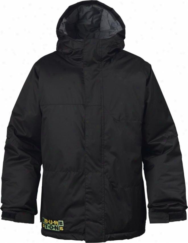 Burton Fray Snowboard Jacket True Black
