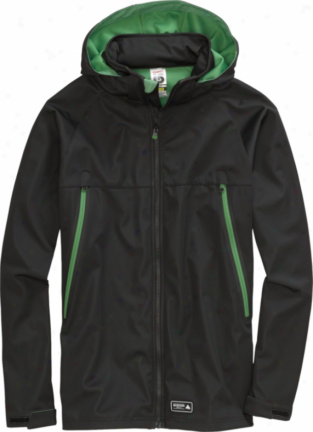 Burton Gauge Softshell Jacket True Black